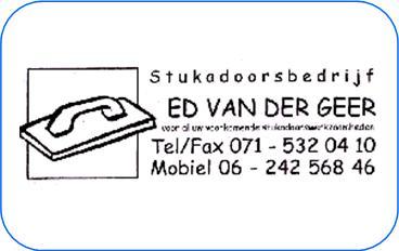 Ed Van Der Geer Stucadoorsbedrijf